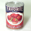 Mary Eccher Can Of Fruit - Strawberries