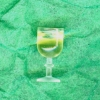 Mary Eccher Glass of White Wine