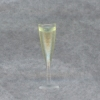 Mary Eccher Filled Fluted Champagne Glass