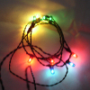 Dollhouse Working String of 12v Color Christmas Lights
