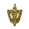 Ornate Houseworks Working Brass Door Knocker