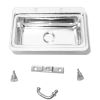 Metal Sink Kit with Faucet