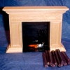 Classic Americana Flickering Fireplace