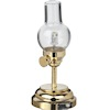 Battery Operated Traditional Clear Glass LED Hurricane Lamp