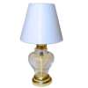 Battery Operated Modern Glass LED Table Lamp