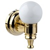 Battery Operated White Globe LED Wall Sconce