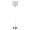 Battery Operated Modern Chrome LED Floor Lamp