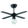 Battery Operated LED Globe Light with Ceiling Fan