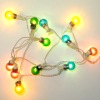Working 12v Multicolored Christmas Ball or Party Globe Lights