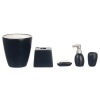 Modern Black Bathroom Accessory Set