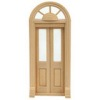 Miniature Wood Palladian Split Door