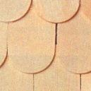 Houseworks Wood Fish Scale Shingles