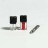 Artisan Red Nail Polish Nail File and Clear Top Coat Set