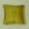 Soft Handcrafted Pillow - Modern Golden Shimmer