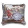 Dancing Couple French Renaissance Pillow