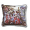 Lute Serenading Couple French Renaissance Pillow