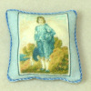Soft Handcrafted Pillow - Blue Boy
