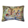 Artisan English Cottage Soft Pillow with Piping