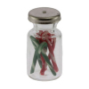 Filled Christmas Candy Cane Jar