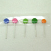 Colorful Strip of Lollipops