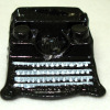 Black Metal Typewriter