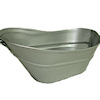Vintage style Metal Hip Bath Tub