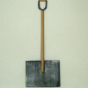 Real Metal Snow Shovel