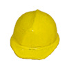 Yellow Metal Construction Hardhat Hard Hat