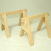 Pair of Wood Sawhorses
