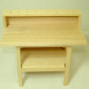 Real Wood Work Bench with Tool Rack