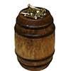 Handcrafted Wood Filled Nail Keg
