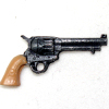 Dollhouse Miniature Western Six Shooter Handgun