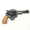 Dollhouse Miniature Police Handgun