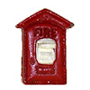 Handpainted Metal Red Fire Alarm Box