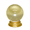Halloween Magic Crystal Ball with Gold Base