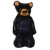 Small Chainsaw Carving Style Standing Black Bear Statue