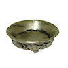 Jeanetta Kendall Low Antiqued Silver Metal Bowl