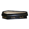 Jeannetta Kendall Bespaq Opening Glass Top Black Coffin