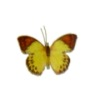 Jeannetta Kendall Handcrafted Red Tip Yellow Butterfly