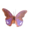 Jeannetta Kendall Handcrafted Purple Butterfly