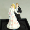 Jeanetta Kendall Bride and Groom Wedding Cake Topper