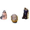 Jeannetta Kendall Handpainted three Piece Nativity Scene