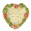 Jeanetta Kendall Heart Shape Floral Bowl