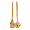 Jeanetta Kendall Perforated Wood Long Handle Spoons