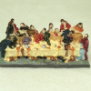 Jeanetta Kendall Hand Painted Last Supper Vignette