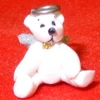 Artisan Crafted Tiny Christmas Angel Bear