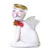 IGMA Artisan Judith Orr Christmas Angel Cat Tree Topper Ornament