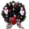 IGMA Artisan Judith Orr Teddy Bear Christmas Wreath