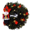 IGMA Artisan Judith Orr Nutcracker Christmas Wreath