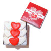 Filled Valentine's Day Heart Cookie Tin